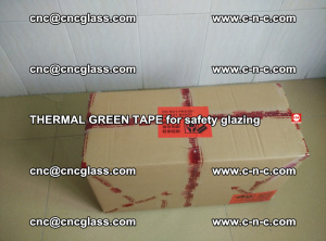 PET GREEN TAPE for EVALAM EVASAFE COOLSAFE EVAFORCE safety glazing (14)