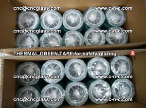 PET GREEN TAPE for EVALAM EVASAFE COOLSAFE EVAFORCE safety glazing (15)