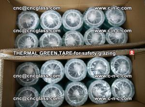 PET GREEN TAPE for EVALAM EVASAFE COOLSAFE EVAFORCE safety glazing (16)