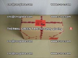 PET GREEN TAPE for EVALAM EVASAFE COOLSAFE EVAFORCE safety glazing (2)