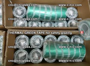 PET GREEN TAPE for EVALAM EVASAFE COOLSAFE EVAFORCE safety glazing (28)