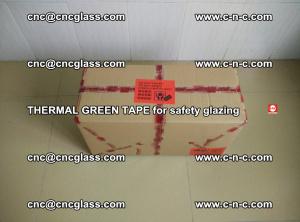 PET GREEN TAPE for EVALAM EVASAFE COOLSAFE EVAFORCE safety glazing (3)