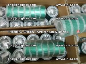 PET GREEN TAPE for EVALAM EVASAFE COOLSAFE EVAFORCE safety glazing (33)