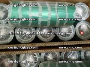 PET GREEN TAPE for EVALAM EVASAFE COOLSAFE EVAFORCE safety glazing (36)