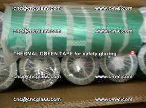 PET GREEN TAPE for EVALAM EVASAFE COOLSAFE EVAFORCE safety glazing (37)