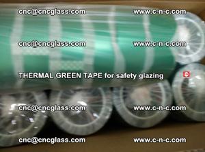 PET GREEN TAPE for EVALAM EVASAFE COOLSAFE EVAFORCE safety glazing (39)