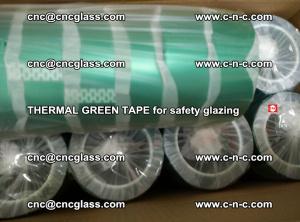 PET GREEN TAPE for EVALAM EVASAFE COOLSAFE EVAFORCE safety glazing (41)
