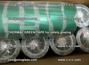 PET GREEN TAPE for EVALAM EVASAFE COOLSAFE EVAFORCE safety glazing (42)