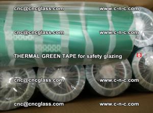 PET GREEN TAPE for EVALAM EVASAFE COOLSAFE EVAFORCE safety glazing (44)