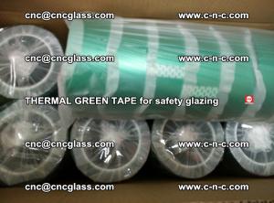 PET GREEN TAPE for EVALAM EVASAFE COOLSAFE EVAFORCE safety glazing (45)