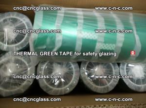 PET GREEN TAPE for EVALAM EVASAFE COOLSAFE EVAFORCE safety glazing (46)