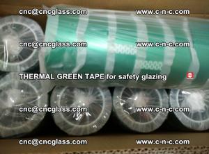 PET GREEN TAPE for EVALAM EVASAFE COOLSAFE EVAFORCE safety glazing (47)