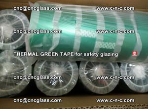 PET GREEN TAPE for EVALAM EVASAFE COOLSAFE EVAFORCE safety glazing (48)