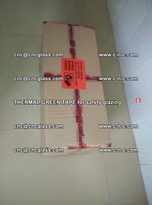 PET GREEN TAPE for EVALAM EVASAFE COOLSAFE EVAFORCE safety glazing (5)
