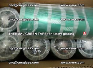PET GREEN TAPE for EVALAM EVASAFE COOLSAFE EVAFORCE safety glazing (52)