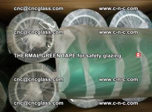 PET GREEN TAPE for EVALAM EVASAFE COOLSAFE EVAFORCE safety glazing (53)