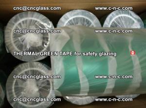 PET GREEN TAPE for EVALAM EVASAFE COOLSAFE EVAFORCE safety glazing (54)