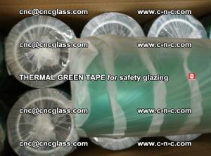 PET GREEN TAPE for EVALAM EVASAFE COOLSAFE EVAFORCE safety glazing (55)