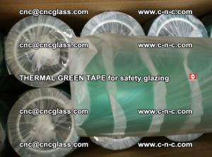 PET GREEN TAPE for EVALAM EVASAFE COOLSAFE EVAFORCE safety glazing (56)