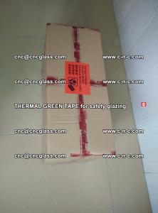 PET GREEN TAPE for EVALAM EVASAFE COOLSAFE EVAFORCE safety glazing (6)