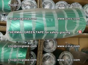 PET GREEN TAPE for EVALAM EVASAFE COOLSAFE EVAFORCE safety glazing (61)