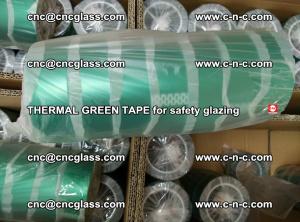 PET GREEN TAPE for EVALAM EVASAFE COOLSAFE EVAFORCE safety glazing (62)