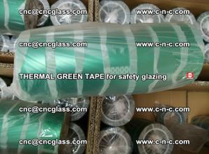 PET GREEN TAPE for EVALAM EVASAFE COOLSAFE EVAFORCE safety glazing (63)