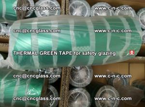 PET GREEN TAPE for EVALAM EVASAFE COOLSAFE EVAFORCE safety glazing (64)