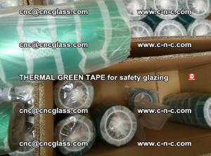 PET GREEN TAPE for EVALAM EVASAFE COOLSAFE EVAFORCE safety glazing (69)