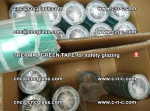 PET GREEN TAPE for EVALAM EVASAFE COOLSAFE EVAFORCE safety glazing (73)