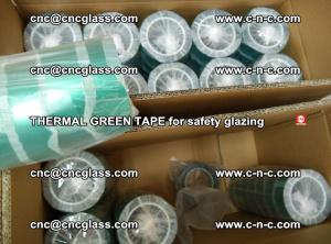 PET GREEN TAPE for EVALAM EVASAFE COOLSAFE EVAFORCE safety glazing (77)