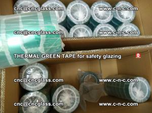 PET GREEN TAPE for EVALAM EVASAFE COOLSAFE EVAFORCE safety glazing (82)