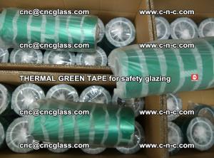 PET GREEN TAPE for EVALAM EVASAFE COOLSAFE EVAFORCE safety glazing (86)