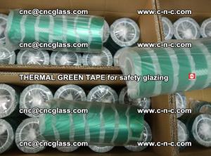 PET GREEN TAPE for EVALAM EVASAFE COOLSAFE EVAFORCE safety glazing (87)