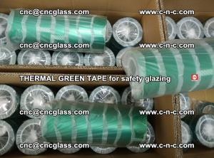 PET GREEN TAPE for EVALAM EVASAFE COOLSAFE EVAFORCE safety glazing (88)