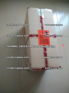 PET GREEN TAPE for EVALAM EVASAFE COOLSAFE EVAFORCE safety glazing (9)
