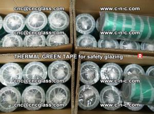 PET GREEN TAPE for EVALAM EVASAFE COOLSAFE EVAFORCE safety glazing (96)