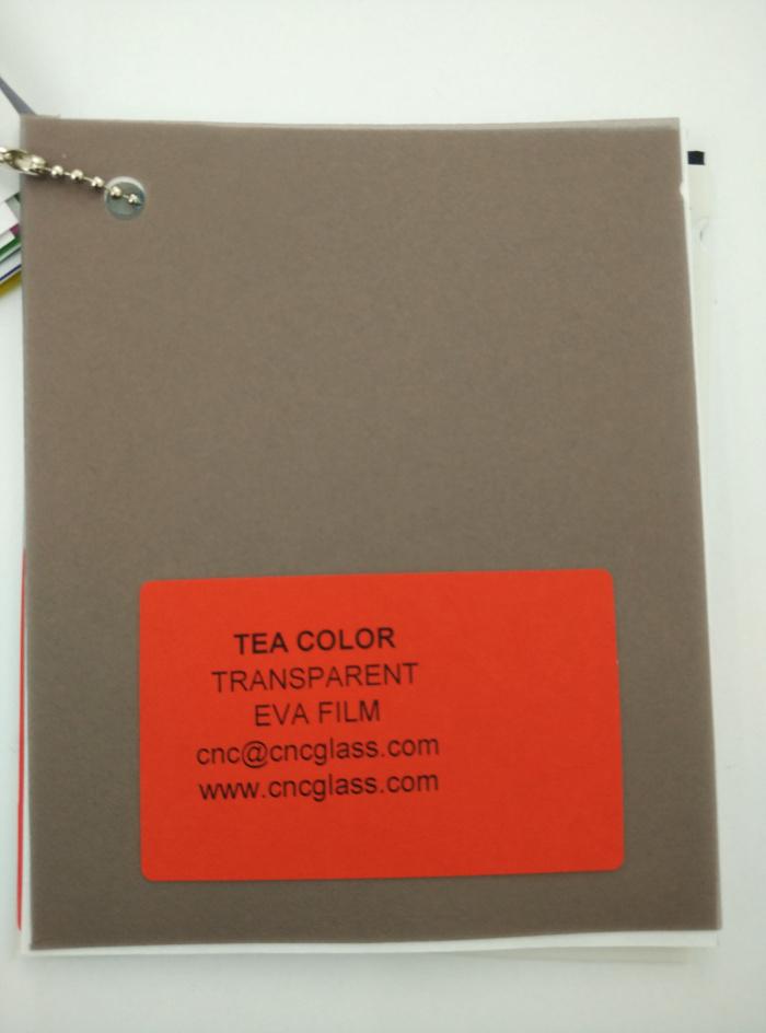 TEA COLOR Transparent Ethylene Vinyl Acetate Copolymer EVA interlayer film for laminated glass safety glazing (1)