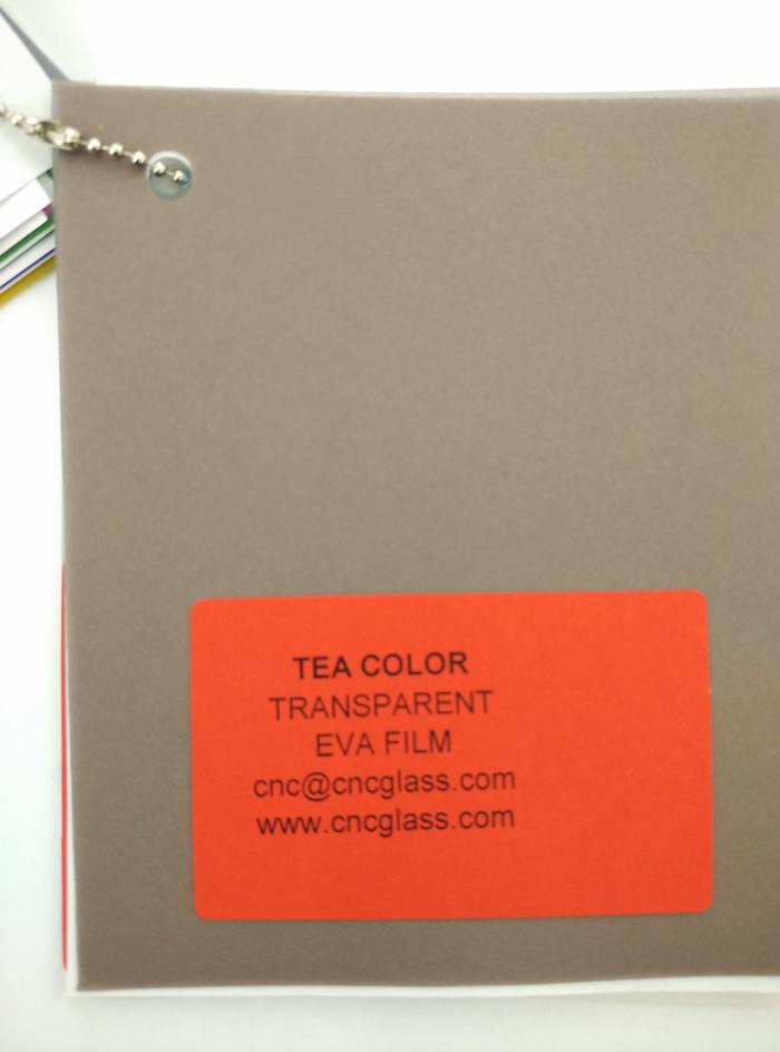 TEA COLOR Transparent Ethylene Vinyl Acetate Copolymer EVA interlayer film for laminated glass safety glazing (10)