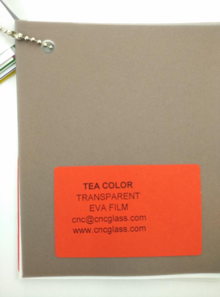 TEA COLOR Transparent Ethylene Vinyl Acetate Copolymer EVA interlayer film for laminated glass safety glazing (11)