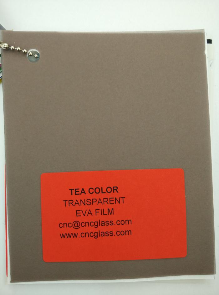 TEA COLOR Transparent Ethylene Vinyl Acetate Copolymer EVA interlayer film for laminated glass safety glazing (14)