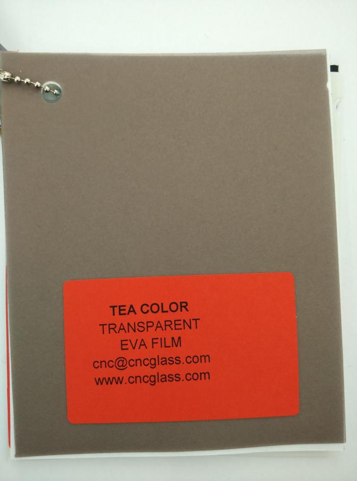 TEA COLOR Transparent Ethylene Vinyl Acetate Copolymer EVA interlayer film for laminated glass safety glazing (15)