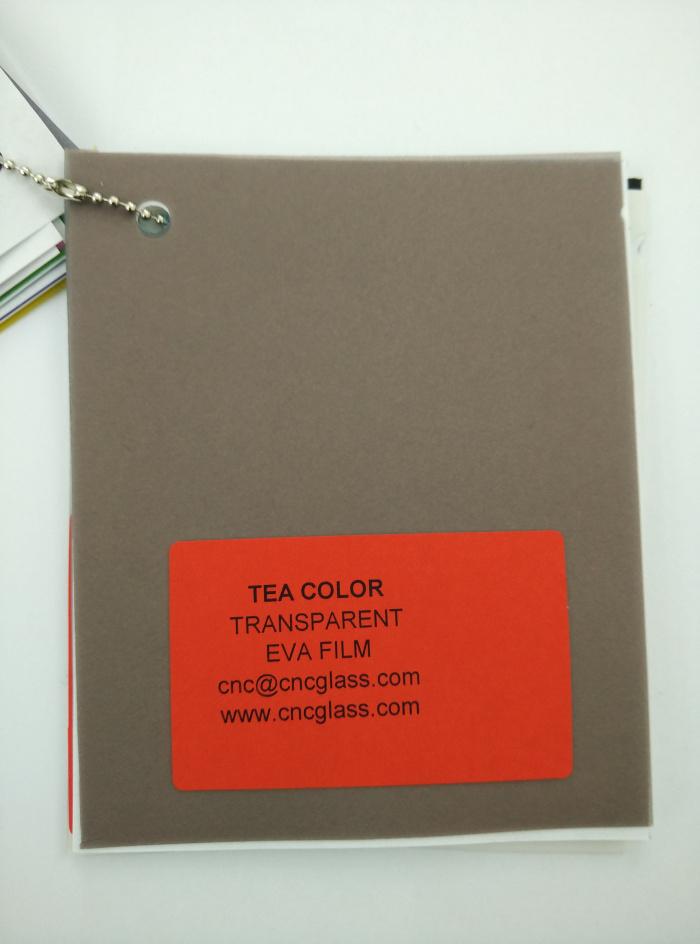 TEA COLOR Transparent Ethylene Vinyl Acetate Copolymer EVA interlayer film for laminated glass safety glazing (17)