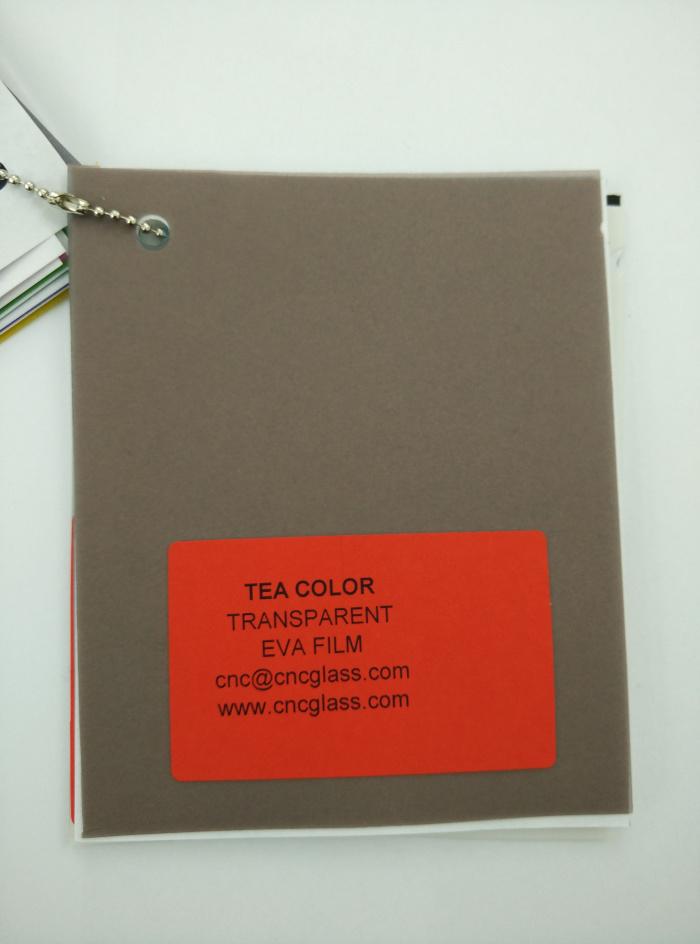 TEA COLOR Transparent Ethylene Vinyl Acetate Copolymer EVA interlayer film for laminated glass safety glazing (18)