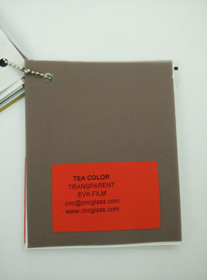 TEA COLOR Transparent Ethylene Vinyl Acetate Copolymer EVA interlayer film for laminated glass safety glazing (19)