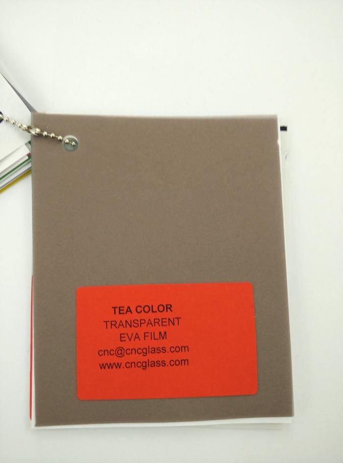 TEA COLOR Transparent Ethylene Vinyl Acetate Copolymer EVA interlayer film for laminated glass safety glazing (2)