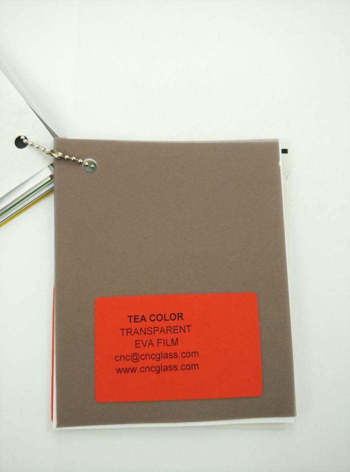 TEA COLOR Transparent Ethylene Vinyl Acetate Copolymer EVA interlayer film for laminated glass safety glazing (21)