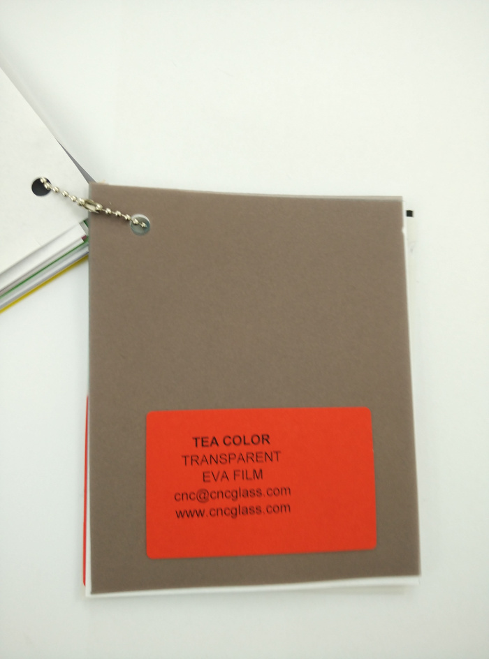 TEA COLOR Transparent Ethylene Vinyl Acetate Copolymer EVA interlayer film for laminated glass safety glazing (24)
