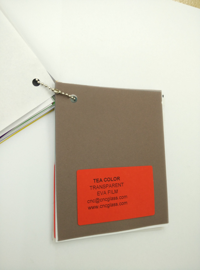 TEA COLOR Transparent Ethylene Vinyl Acetate Copolymer EVA interlayer film for laminated glass safety glazing (25)