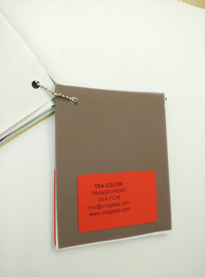 TEA COLOR Transparent Ethylene Vinyl Acetate Copolymer EVA interlayer film for laminated glass safety glazing (27)